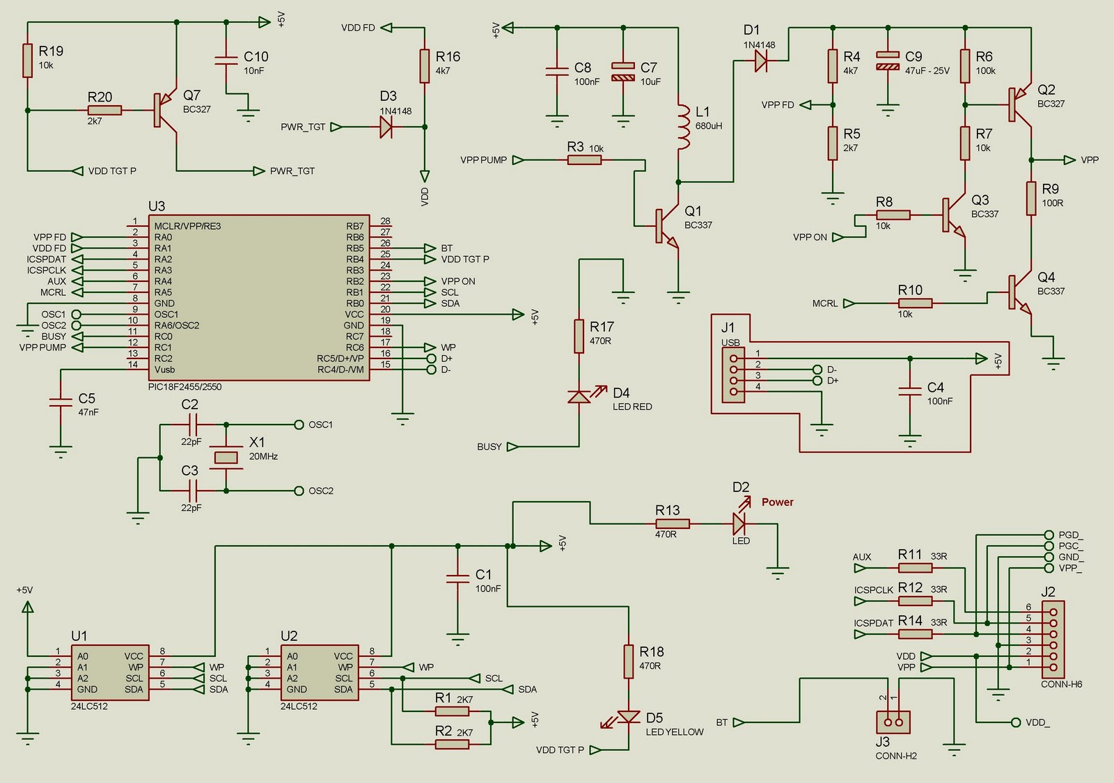 Pickit 2 Programmer Circuit Diagram Clarion Cz100 Wiring For Anything Pickit2