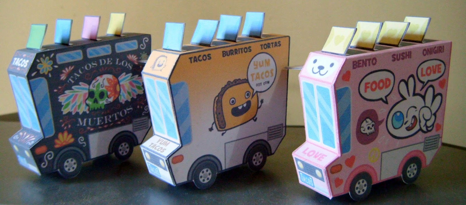 moshi..moshi..: nani?bird & taco truck pepakura