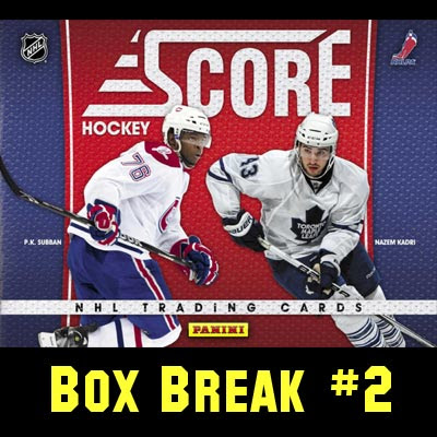 2010-11 Score Hockey box break #2