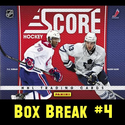2010-11 Score Hockey box break #4