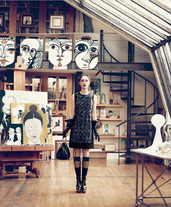 Studios For Rent In New York: It Can't All Be Dior: Nordstrom's Fall Campaign Gets It So