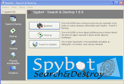 spybot em portugues