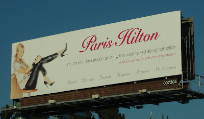 Paris Hilton Billboard, Los Angeles