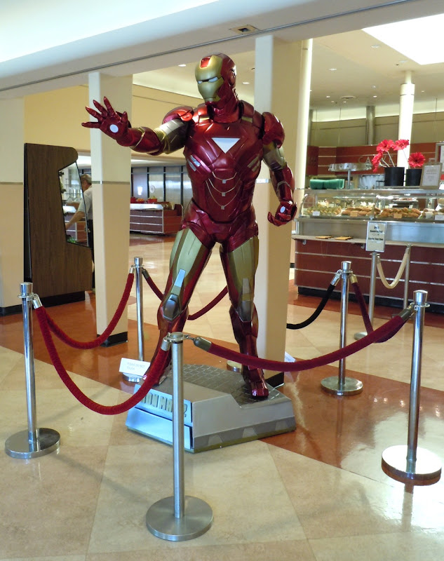 Iron Man 2 suit movie costume