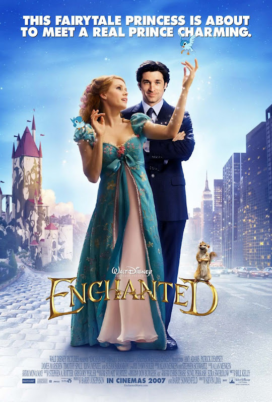 Disney Enchanted movie poster