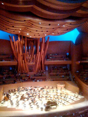 Walt Disney Concert Hall interior