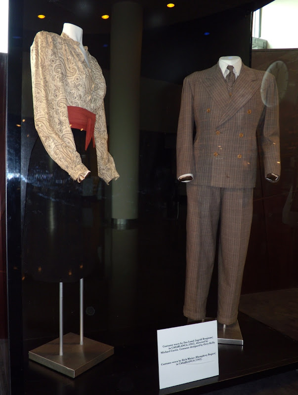 Original Casablanca movie costumes