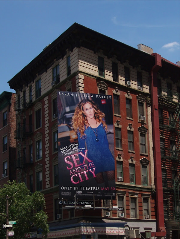 Sex and the city movie billboard