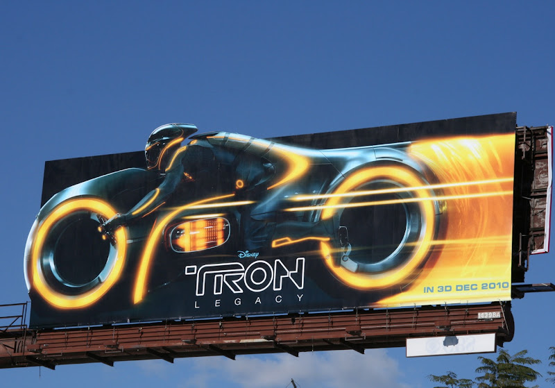 Tron Legacy movie billboard