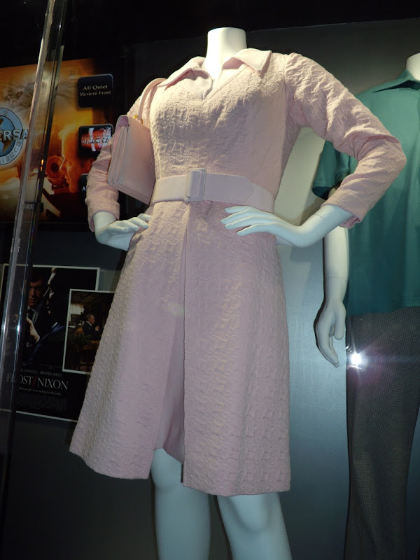 Pat Nixon pink movie outfit