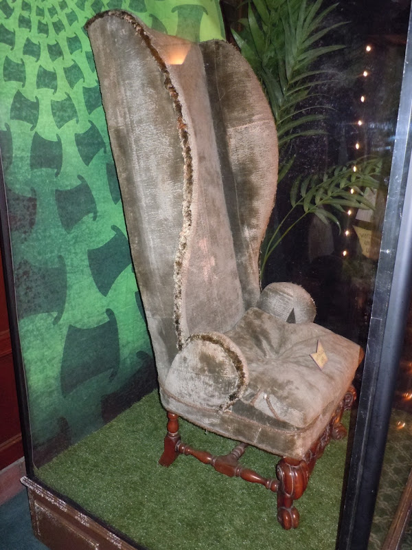 Mad Hatter chair movie prop