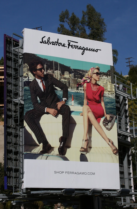 Salvatore Ferragamo Spring 2010 fashion billboard