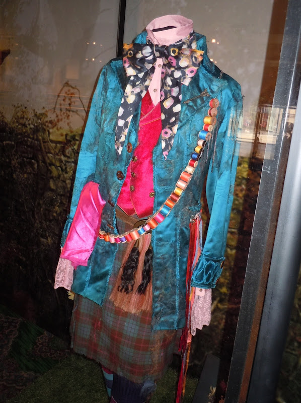 Johnny Depp's Mad Hatter film costume