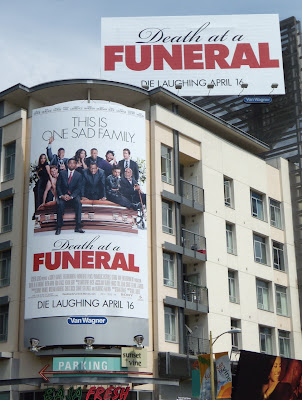 Death at a funeral movie billboards