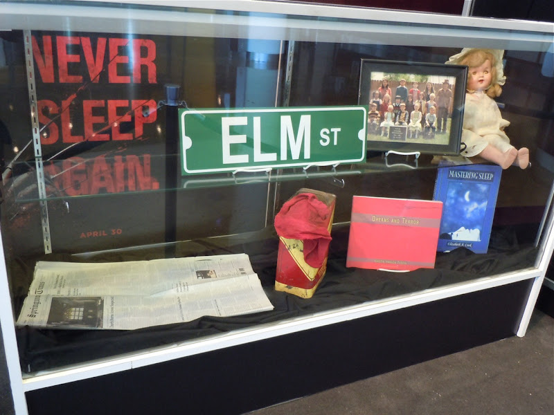 A Nightmare on Elm Street movie props