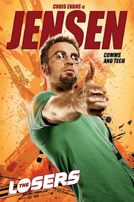 Jensen The Losers film poster
