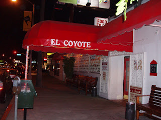 El Coyote cafe on Beverly Blvd