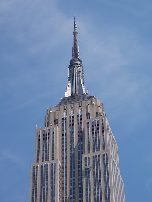 The impressive Empire State Building New York City