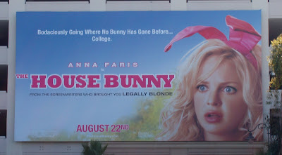 The House Bunny movie billboard at The Grove