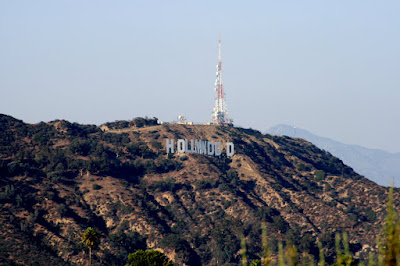 Infamous Hollywood Sign viewed from Runyon Canyon