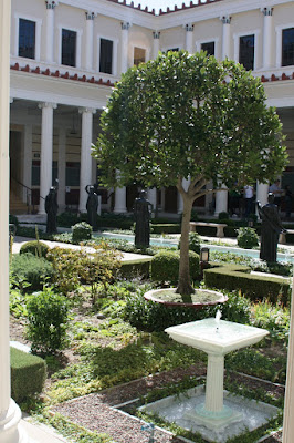 The Getty Villa Inner Peristyle
