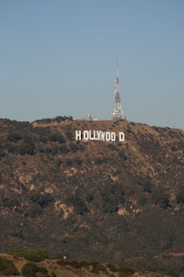Runyon Canyon view of the infamous Hollywood Sign