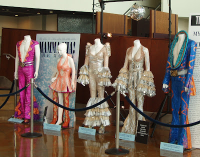 Movie costumes from the movie Mamma Mia