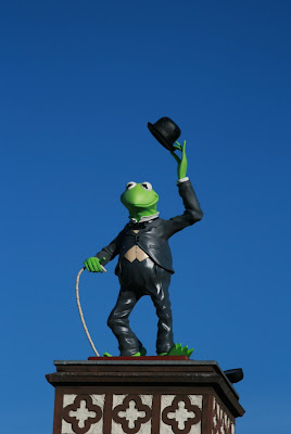 The iconic Kermit the Frog