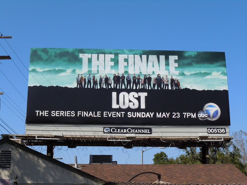 LOST The Finale TV billboard