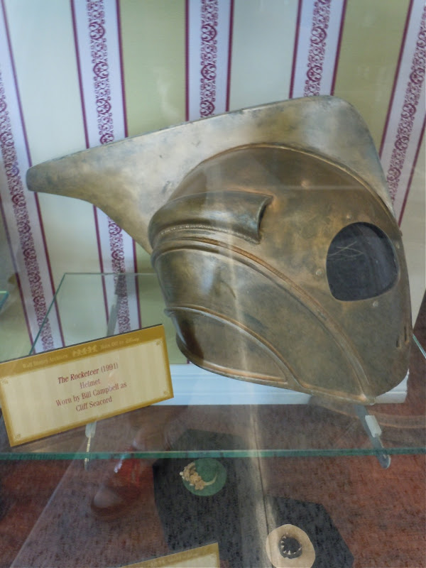 Bill Campbell's Rocketeer movie helmet