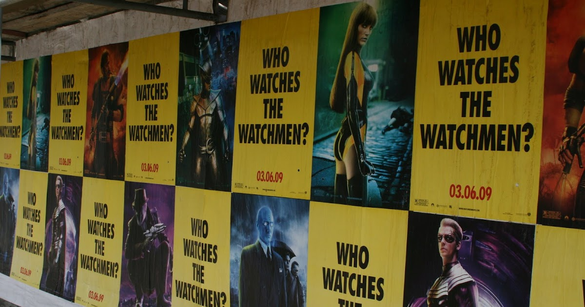 Image result for who watches the watchmen poster