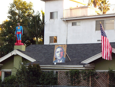 Super Obama supporter house on Fountain Blvd
