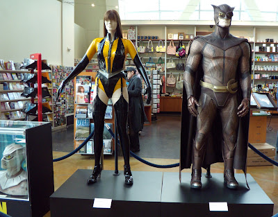 Nite Owl and Silk Spectre Watchmen movie costumes
