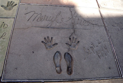 Mann's Chinese Theatre celebrity footprints