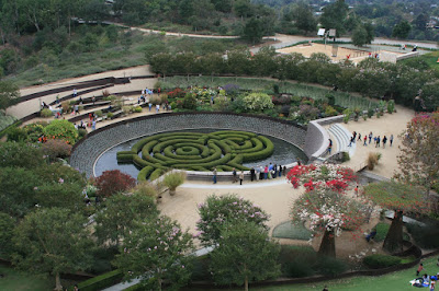 The Central Garden at The Getty Center