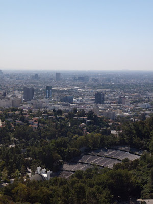 Hollywood Bowl Overlook view