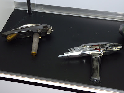 Original Star Trek phaser movie props