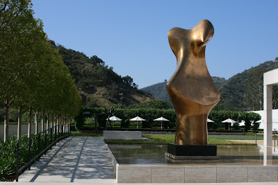 The Getty Center sculpture garden