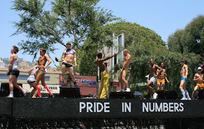West Hollywood Gay Pride boys 2008