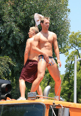 West Hollywood Gay Pride hot guys 2008