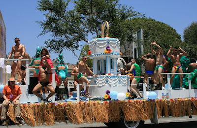 West Hollywood Gay Pride Parade celebration 2008