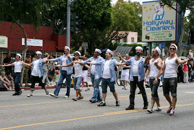 Gay Men's Chorus sing live at West Hollywood Pride 2009