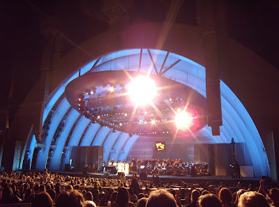 Aretha Franklin concert at Hollywood Bowl
