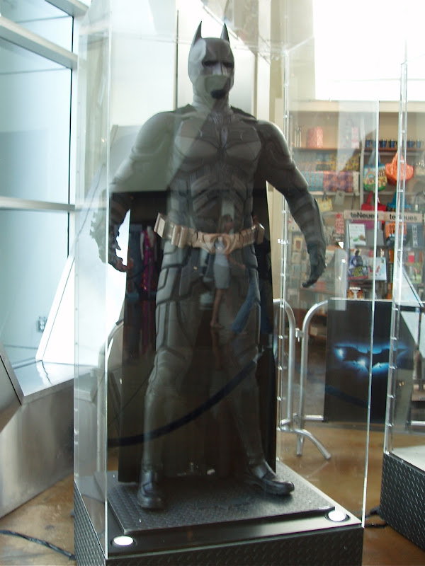 Batman suit movie costume from The Dark Knight