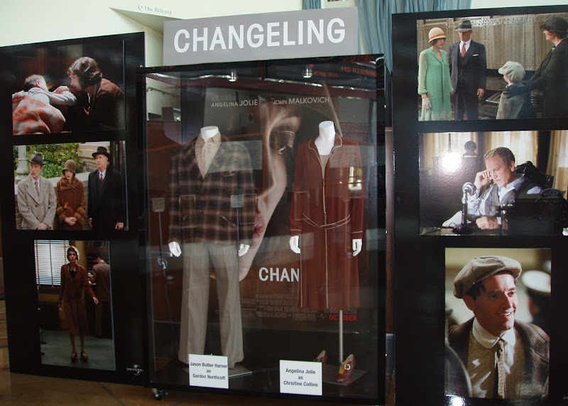 Angelina Jolie and Jason Butler Harner Changeling movie costumes