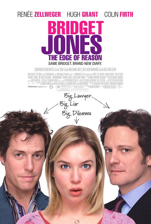 Bridget Jones The Edge of Reason movie poster