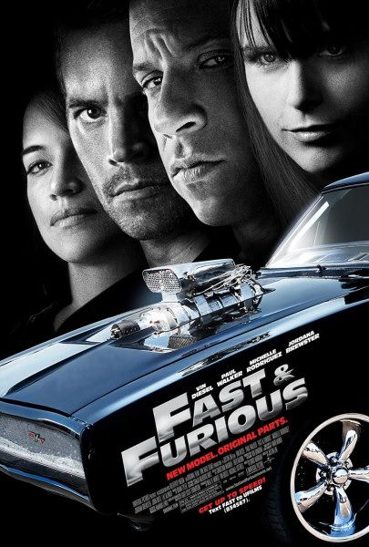 Fast & Furious film poster
