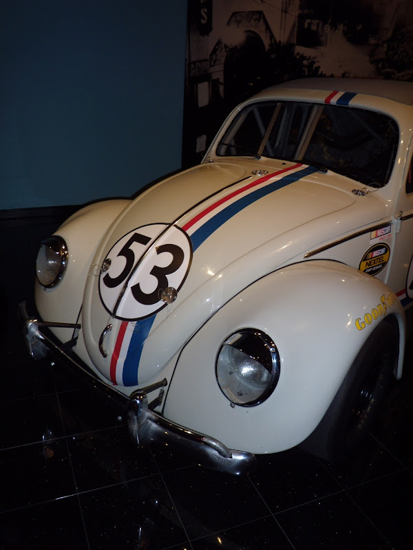 Linsay Lohan's Herbie Fully Loaded VW Beetle