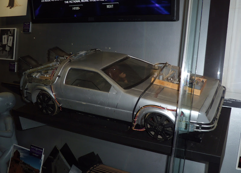 Back to the Future III De Lorean car miniature