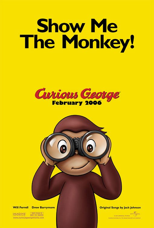 Curious George teaser movie poster